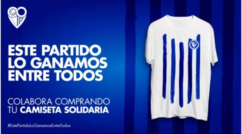 Lucha contra el coronavirus: las camisetas solidarias del Málaga superan las 2000 ventas