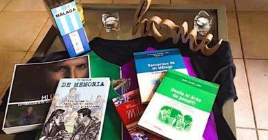 El Málaga recomienda los mejores libros escritos con tinta blanquiazul