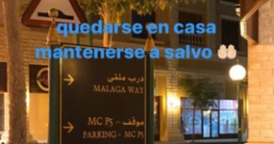 """Al-Thani se acordó de Málaga y lanzó una recomendación: """"Quedarse en casa, mantenerse a salvo"""""""