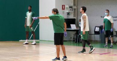 La fase 2 en Málaga: ¿Cómo afectará al Unicaja en los entrenamientos?