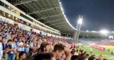 Malaka Hinchas recuerda la última visita a Almería con motivo del fin de liga que no pudo ser