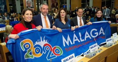Málaga seguirá siendo Capital Europea del Deporte hasta el verano de 2021