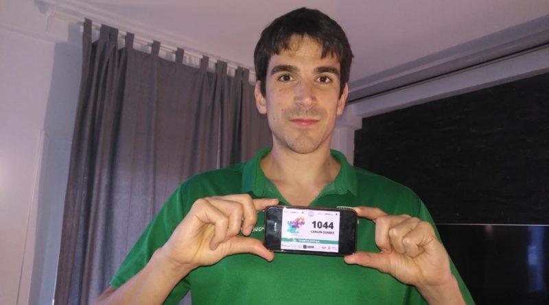 Carlos Suárez se suma a la carrera virtual benéfica en favor de Bancosol