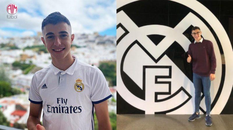 El Real Madrid se lleva a Antonio David, una promesa de la cantera del Málaga CF
