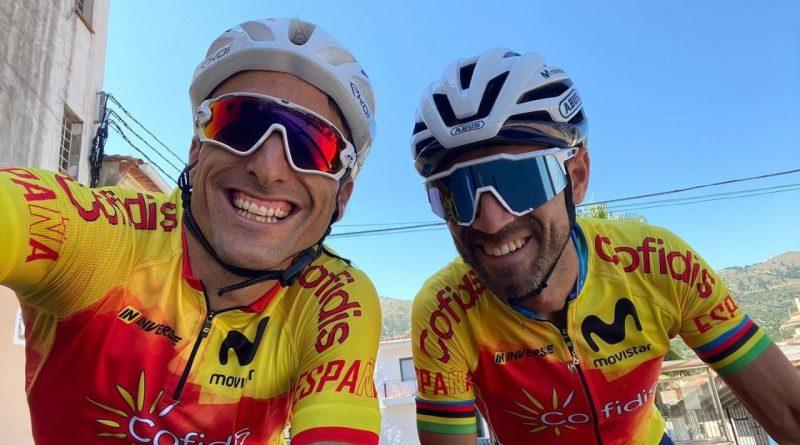 Luis Ángel Maté ya entrena con la Selección Española de Ciclismo