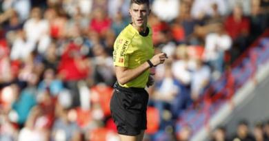 Álvaro Moreno Aragón dirigirá el Málaga-Huesca