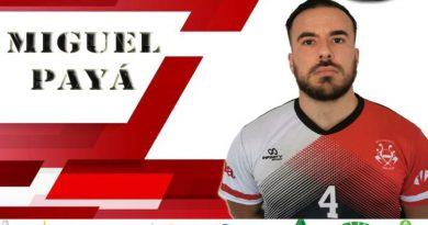 Miguel Payá, dureza defensiva un año más en las filas de Balonmano Málaga