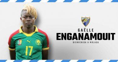 La exmalaguista, Gaëlle Enganamouit, se retira de los terrenos de juego