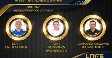 Moli, entre los nominados al 'Mejor Entrenador de Segunda División'