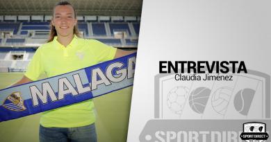"""Claudia Jiménez, acerca de su fichaje: """"Yo he fichado por el Málaga y es el club donde quiero triunfar"""""""
