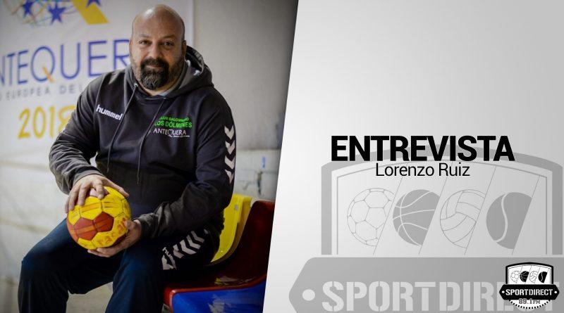 """Lorenzo Ruiz, entrenador del BM Iberoquinoa Antequera: """"Si somos capaces de hacer equipo y que las nuevas incorporaciones sumen somos un equipo difícil de batir"""""""