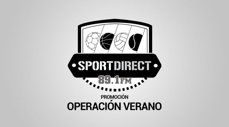 SportDirect Radio lanza su nueva campaña publicitaria con precios espectaculares: 'Operación Verano'