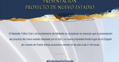 Este viernes se presentará el nuevo estadio del Marbella FC