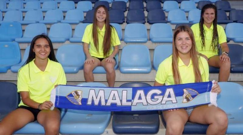 Lorena, 'Futu', Alejandra y Yoli siguen creciendo en el Málaga Femenino