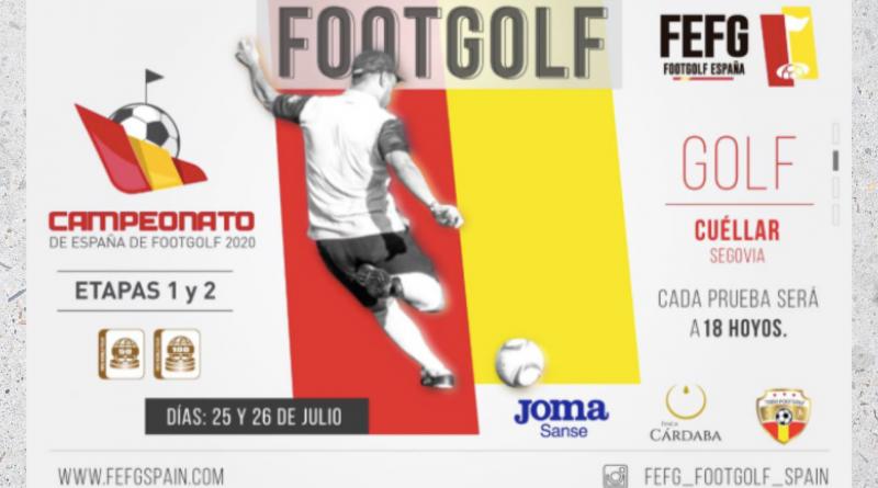 José Manuel Gálvez sorprende en el debut del Campeonato de España de Footgolf