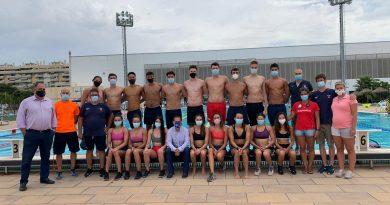 La Selección Española júnior de natación se concentra en Málaga