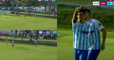 El primer gol con acento de canterano: ¡Hoyos adelantó al Málaga!
