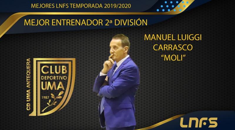 Moli es elegido el mejor entrenador de Segunda División