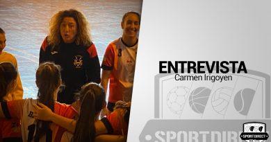 Entrevista a Carmen Irigoyen, entrenadora del BM Málaga