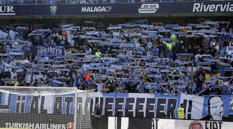 El Málaga ya tiene detrás a 5.000 'fieles malaguistas'