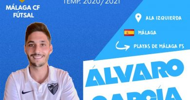 Alvarito, primer refuerzo del Málaga C.F. Futsal