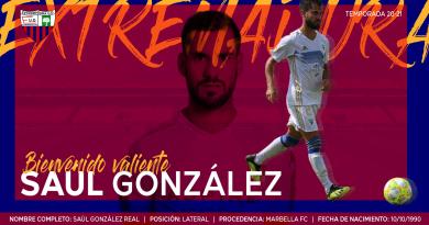 Saúl González se despide del Marbella y ficha por el Extremadura
