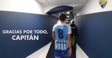OFICIAL: el Málaga también dice adiós a su capitán