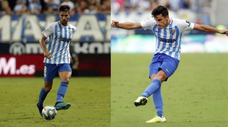 Juankar y Adrián se acuerdan del Málaga tras buscar nuevos destinos