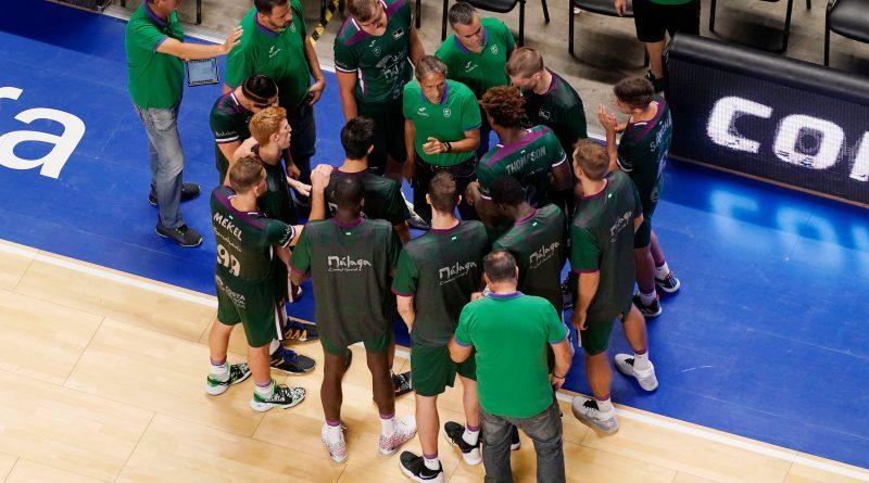 Un positivo por COVID-19 en el Unicaja obliga a aplazar el debut liguero