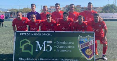 La UD Torre del Mar consigue sumar 3 puntos contra un inofensivo Cantoria FC