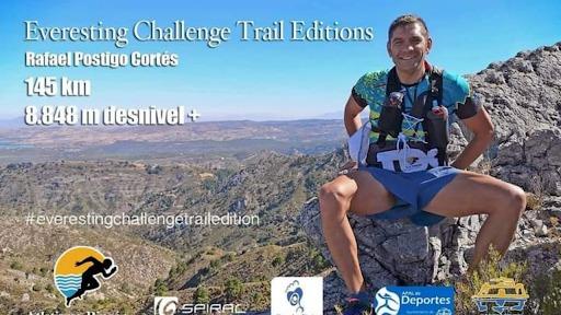 """Rafa Postigo, antes del 'Everesting Challenge': """"Debería durar 24 horas por mi media, pero serán unas 28-30"""""""