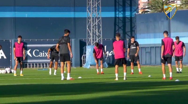 Caye Quintana, Luis Muñoz e Ismael no se ejercitan en el primer entrenamiento de la semana