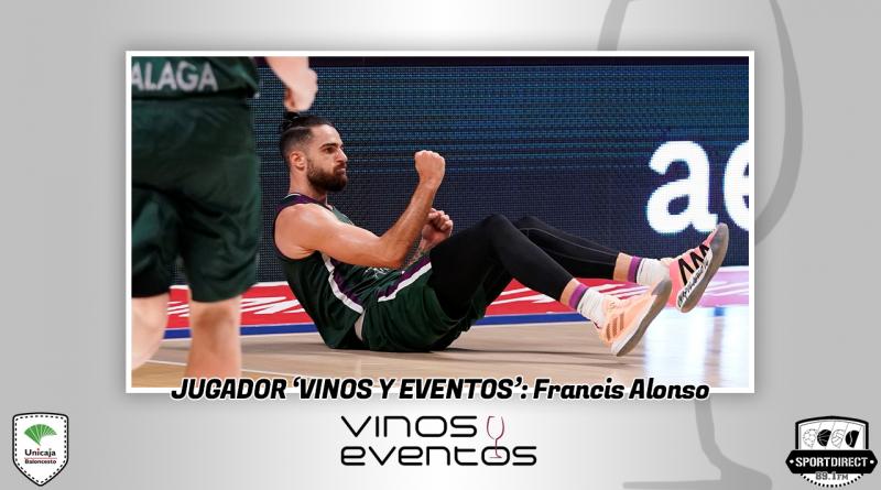 Francis Alonso, un jugador Vinos y Eventos con sangre malagueña por sus venas