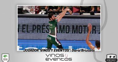 Darío Brizuela se corona como jugador Vinos y Eventos ante el Herbalife Gran Canaria