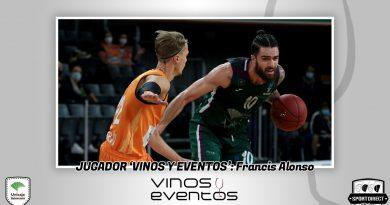 Francis Alonso vuelve a coronarse como jugador Vinos y Eventos