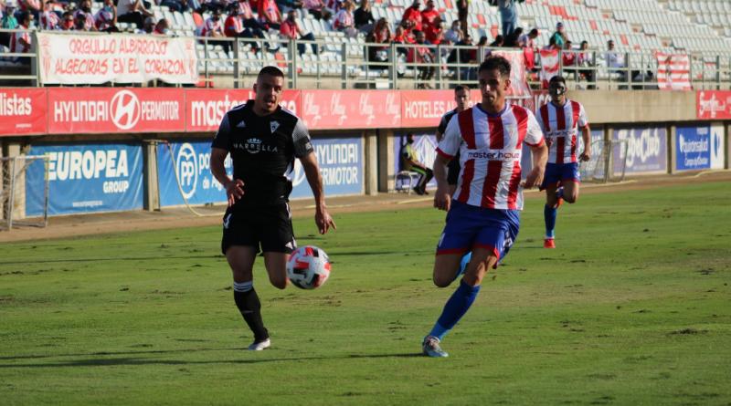 El Marbella no pasa del empate en Algeciras