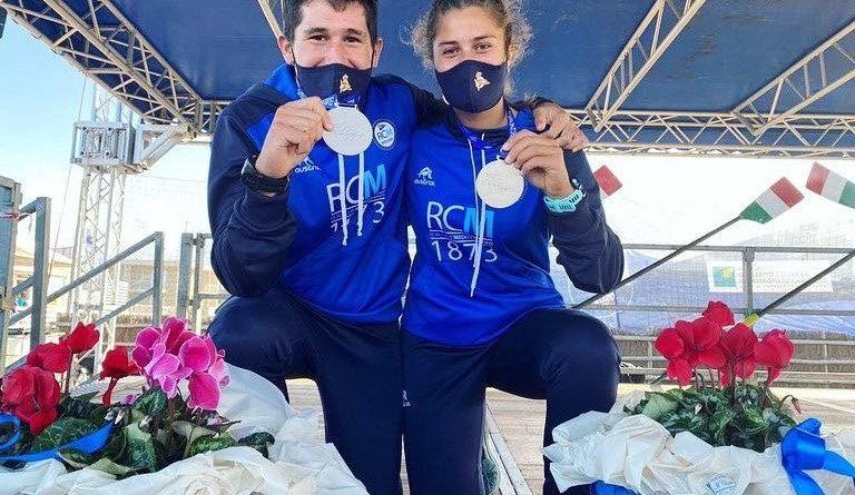 Cuatro medallas para el RC Mediterráneo en el Campeonato de Europa de remo de mar