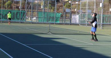 Las pistas de tenis de Alhaurín de la Torre acogieron la liga interclubes de Málaga