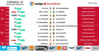 El Málaga ya conoce los horarios para los partidos frente a Almería y Logroñés