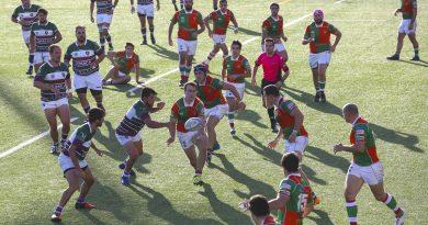 El Club Rugby Málaga suma y sigue: ya es líder virtual e invicto en División de Honor B