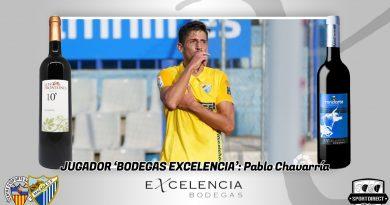 Pablo Chavarría, autor del 1-2 en Sabadell, se lleva el Jugador Excelencia