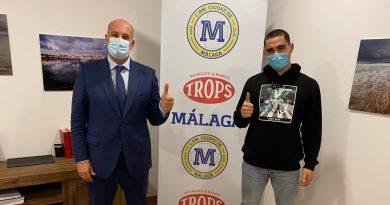 Matías Paya, fuerza y control de juego para las filas del Trops Málaga