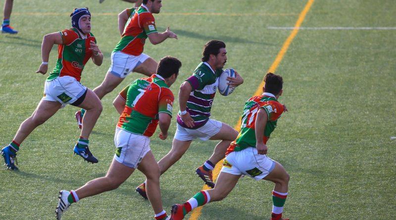 El Club Rugby Málaga continúa su lucha por el liderato en División de Honor