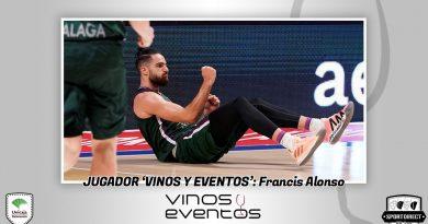 Francis Alonso, una vez más el jugador Vinos y Eventos de Unicaja