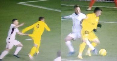 Nueva polémica arbitral: el Málaga pidió dos penaltis en Albacete