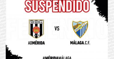 El Málaga Femenino B-AD Mérida, suspendido por las adversas condiciones climatológicas