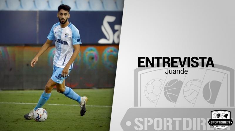 "Entrevista a Juande: ""Me motiva enfrentarme a delanteros del nivel de Djurdjevic"""