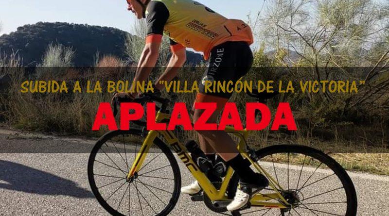 Rincón de la Victoria y el Club Ciclista Triple Platero aplazan la 'Subida a la Bolina' por la COVID-19