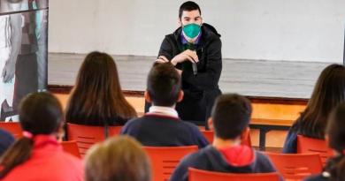 Darío Brizuela, en búsqueda de un quinteto contra el bullying