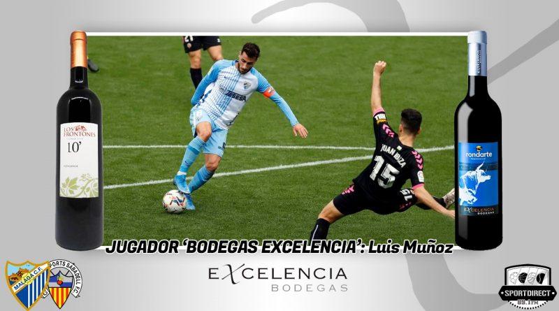 Sin Chavarría también hay gol: Luis Muñoz hace un doblete y se lleva el Excelencia del Málaga-Sabadell